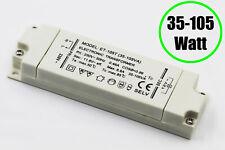 Elektronischer Halogen Trafo 12V 35-105 Watt, 220-240 V 50/60 Hz Lampen dimmbar