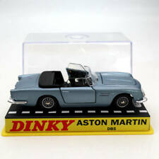 1:43 Atlas Dinky toys 110 Aston Martin Blue Diecast Models car Collection