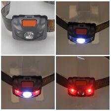 Einstellbar 500LM 3x R3 2 Rote LED Scheinwerfer Stirnlampe Kopflamp Headlamp
