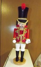 "Steinbach Classic Soldier Guard Nutcracker Germany Wood New NWT 19"" + Box  NIB"