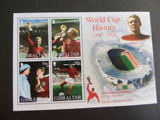 Mint Never Hinged/MNH Football British Sheets Stamps