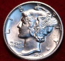 Uncirculated 1940-S San Francisco Mint Silver Mercury Dime