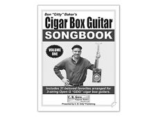 Cigar Box Guitar Tab Songbook Songbook (Volume 1) for 3-string Open G GDG