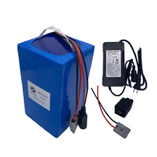 52V48V25Ah Ebike Battery Li-ion Lithium Charger Rechargeable Electric Bike 1500W