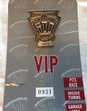 Indianapolis 500 Silver Pit Badge, VIP, 1997