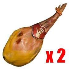 2 x - PROSCIUTTO CRUDO SPAGNOLO ( SPALLA ) - JAMON SERRANO - 4,1-4,3 Kg
