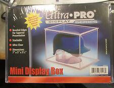 1 Ultra Pro Football Baseball Mini Helmet Holder Cube protect Display Box