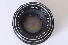 Meyer-Optik Gorlitz 50 mm F1.8 Objectif Oreston M42 vis Mont