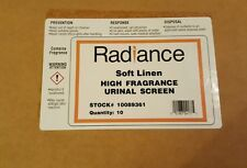 Case of 10 Radiance Soft Linen High Fragrance Urinal Screen