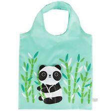 PANDA SHOPPING BAG REUSABLE FOLDAWAY SHOPPER FASHION  SHOPPER TOTE BEACH BAG