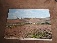 Judges North Yorkshire postcard- Flyingdales Moor-Golfball missal detection base