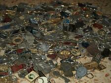 Huge collection 30 lbs (15Kg) Key Chains FOBs  by weight, 1 pound lots