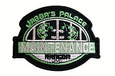 Star Wars - Jabba's Palace Maintenance - Celebration VI - Patch Aufnäher neu