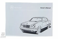 Mercedes-Benz Owner's Manual 1997 E300D E320 E420 *6515103013