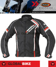 HELD HIGH QUALITY MADDOX TOURING Motorbike Motorcycle JACKET IN BLACK/RED L