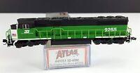 Atlas 49251 Burlington Northern SD-60M Diesel Locomotive 9255 N Scale DCC Ready