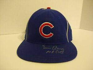 """Ernie Banks """"Mr Cub"""" Autographed Signed Roman Hat Chicago Cubs"""