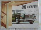 MG Magnette brochure Aug 1964 ref 6475