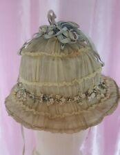 Antique Hat For Small Woman Or Child Very Nice.