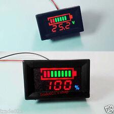 12v Acid lead batteries indicator Battery capacity digital lcd Tester voltmeter