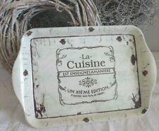 CHIC ANTIQUE, Nostalgie Tablett * LA CUISINE *  Shabby , Brocante, Franske