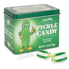 Yummy Pickle Flavored Candy in Collectible Tin!