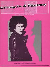 """LEO SAYER """"LIVING IN A FANTASY"""" PIANO/VOCAL/GUITAR W/CHORDS SHEET MUSIC-1980-NEW"""