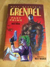 Grendel Past Prime by Greg Rucka Hardcover Dark Horse