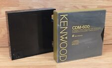 Lot of 2 Jvc (Xc-M70) & Kenwood (Cdm-600) 6 Compact Disc Magazines Only *Read*