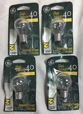 GE Lighting 40S11/N # 35156 40-Watt High Intensity Light Bulb S11 * 4-Bulbs