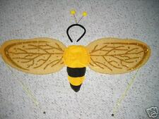 ~*~SET OF BEE WINGS W/ANTENNA~*~BEE COSTUME DRESS UP