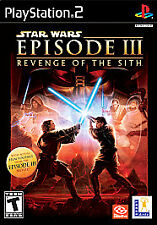 Star Wars: Revenge of the Sith PS2 (free same day ship)