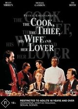 The Cook Thief, His Wife And Her Lover (DVD, 2003)