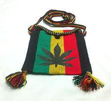 Rasta Weed Leaf Bag Empress Shoulder Bag Jamaica Reggae Style Marley Hippie IRIE