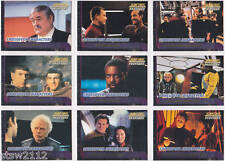 STAR TREK THE NEXT GENERATION TNG PROFILES CROSSOVER CHARACTER SET C1-C9 (9)