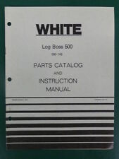 1979 WHITE LOG BOSS 500 SPLITTER 990 - 149 PARTS MANUAL