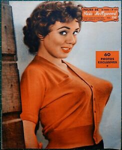 Folies Paris Hollywood #147 pin-up magazine Paula Page - Lorraine Burnett
