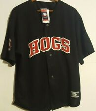 OT Sports Minor League Baseball Hogs XL Jersey Embroidered NWT/Made in USA Vtg