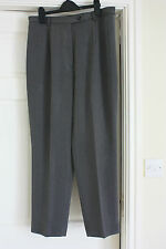 Richards good cond smart size 16 Grey trousers 32 to 33 inch waist 28 inch leg