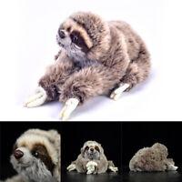35cm Lifelike Cute Sloth Plush Soft Toy Animal Stuffed Doll Xmas Gift