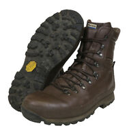 BRITISH ARMY ALTBERG BOOTS - BROWN - GRADE 1  - VARIOUS SIZES - CADET BOOTS