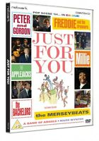 JUST FOR YOU. Peter & Gordon, Freddie & the Dreamers, Millie etc New sealed DVD.