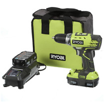 Ryobi P1811 ONE+ Cordless 18 Volt Lithium Ion Compact Drill Driver Kit New