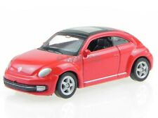 VW Beetle red modelcar Welly 1:60