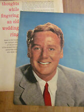Van Johnson, Great Vintage Pinup and Clipping