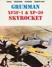 Grumman XF5F-1 & XP-50 Skyrocket by Lucabaugh & Martin Naval Fighters Number 31