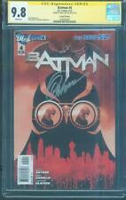 Batman 4 CGC SS 9.8 Greg Capullo Signed Cover 2nd Print Top 1 Variant
