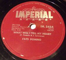 Imperial IM. 5454 Fats Domino When I See You / What Will I Tell My Heart 78 RPM