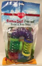 Kaytee CritterTrail Fun-nel Twist & Turn Tubes 10pc Fun For The Little Ones New