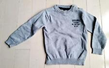 BABY BOY ORCHESTRA TODDLER PULLOVER GREY SWEATER ( 18 MONTHS )